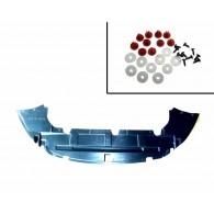 Osłona pod zderzak + komplet spinek Focus Mk2 FL
