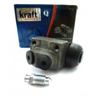 Cylinderek hamulcowy tył średnica - 19 mm Kraft 6032000