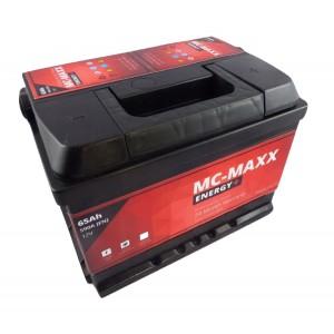 Akumulator MC-MAXX ENERGY+ 65AH 590A CZERWONA MOC