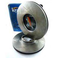 Tarcze hamulcowe przód 260 mm komplet Kraft 6042120