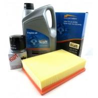 Zestaw olej + filtry Escort V/VII