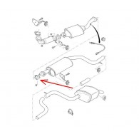 Uszczelka układu wydechowego Duratec-He 256-087